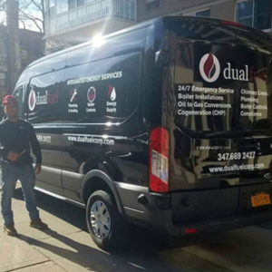 Dual Fuel Van with Driver