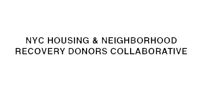 NYC Housing & Neighborhood Recovery Donors Collaborative
